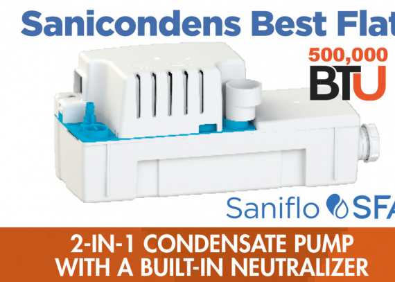 Easy to Install Neutralizing Condensate Pump!